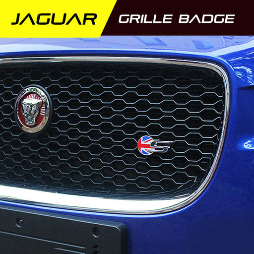 Grille Metal Emblem for Jaguar XKR XJR R-TYPE XFL XE XJL F-PACE Grill Badge