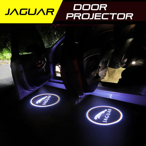 LED Door Projector Ultra-Bright Puddle Lights for Jaguar