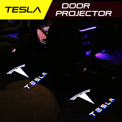 LED Door Projector Ultra-Bright Puddle Lights for Tesla