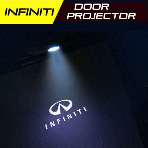 LED Door Projector Ultra-Bright Puddle Lights for Infiniti