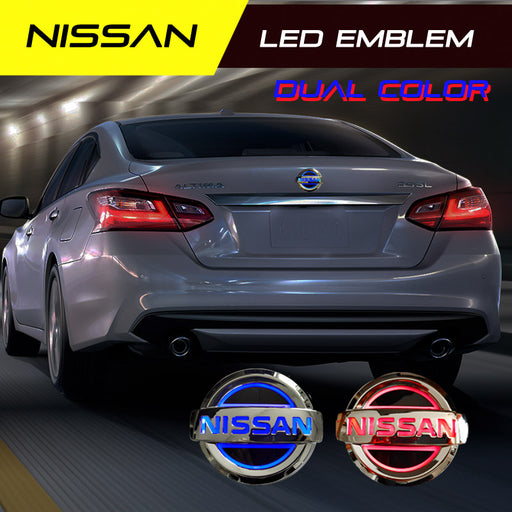 Nissan LED Emblem Dual Color