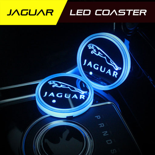 2 Pcs Jaguar Smart LED Coaster
