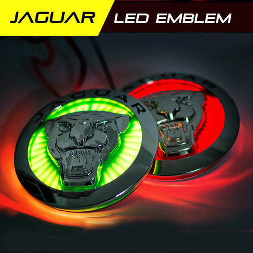 Jaguar LED Radiant Emblem front grille badge light