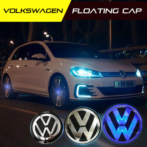 Volkswagen LED Floating Wheel Cap