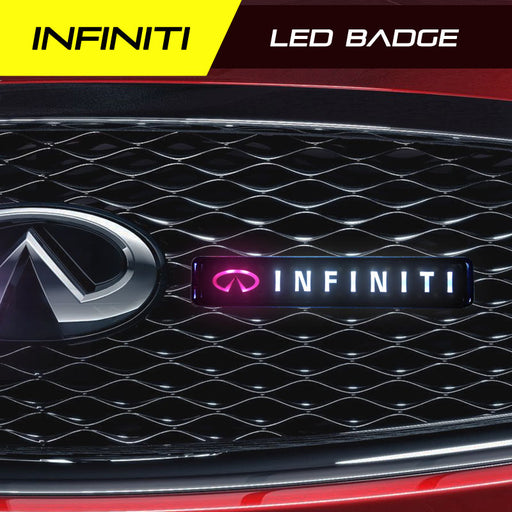 Infiniti LED badge light