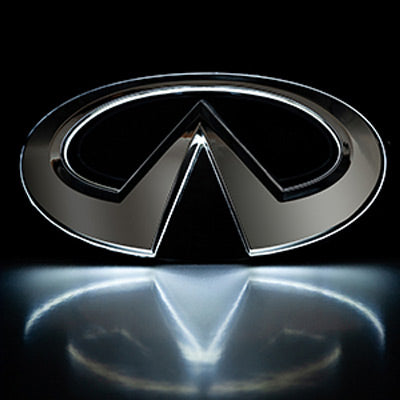 Infiniti G37 G25 LED Radiant Emblem front grille badge light