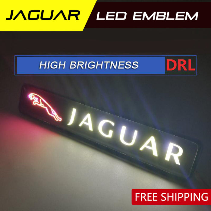 Jaguar LED badge light