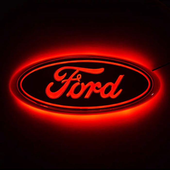 LED Emblem for Ford, Front Car Grill Badge