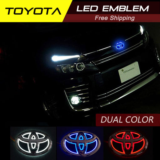 TOYOTA LED EMBLEM DUAL COLOR/ SINGLE COLOR