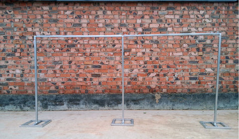 Metal bar frame