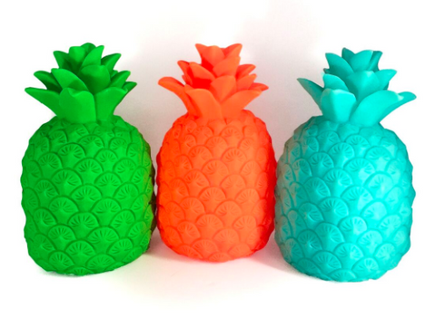Light Up Pineapple - TURQUOISE