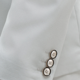 Suit Breast pocket detail Classic button fastening Pin lapel detail