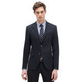 Suit with waistcoat Classic button fastening Pin detail on lapel