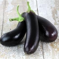 Egg Plant 'Little Finger'-Vegetables-Dundee Organix