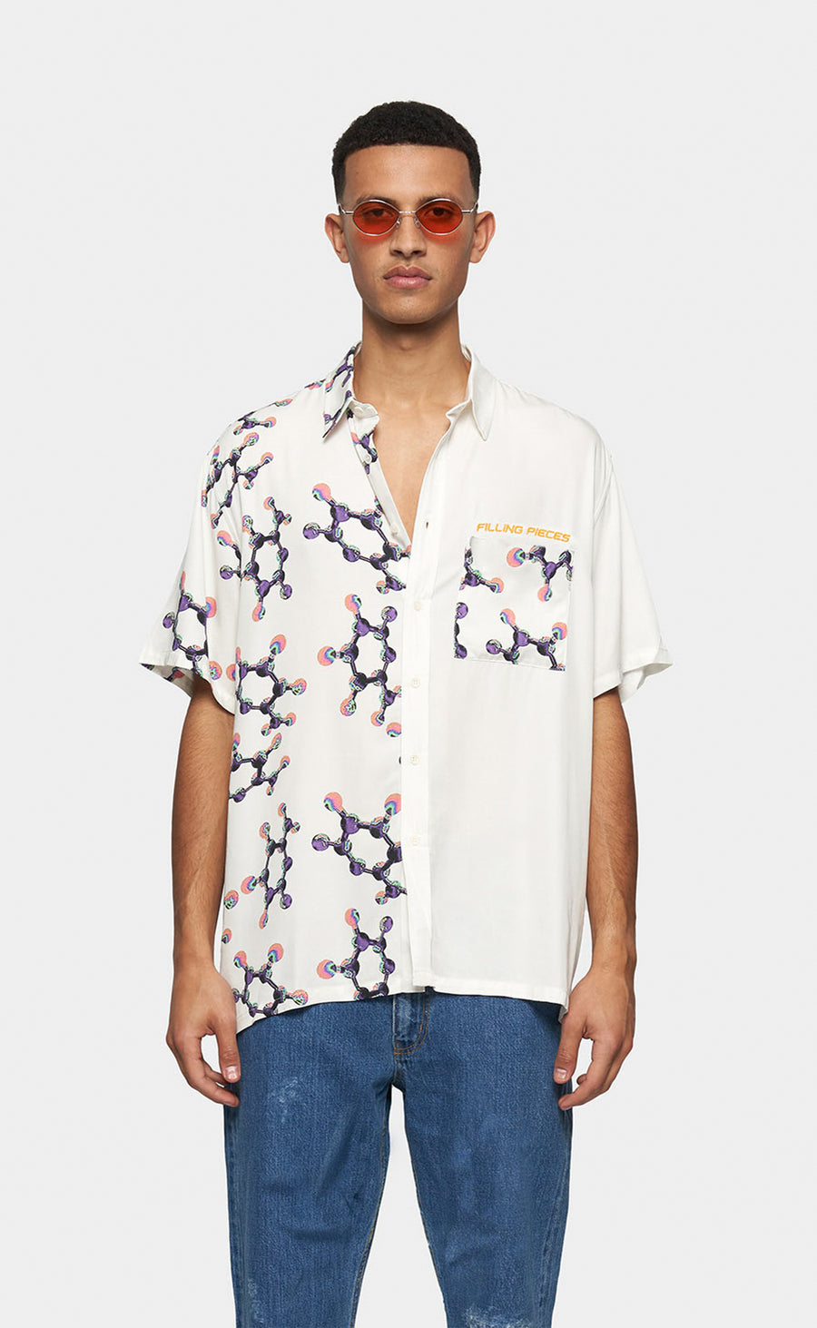 Resort Shirt with Print Helix