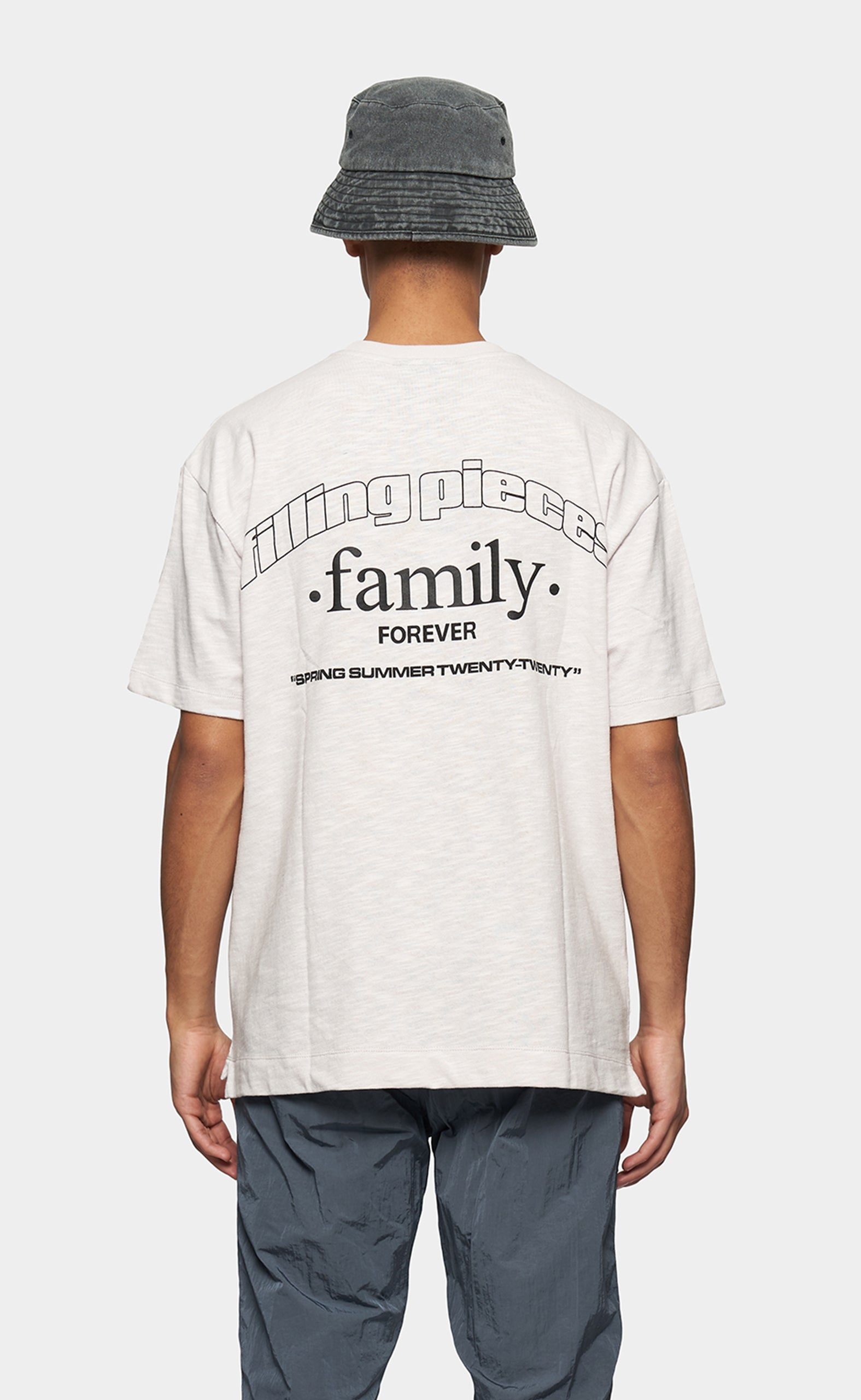 Graphic Tee FP Family Whitecap Grey - men