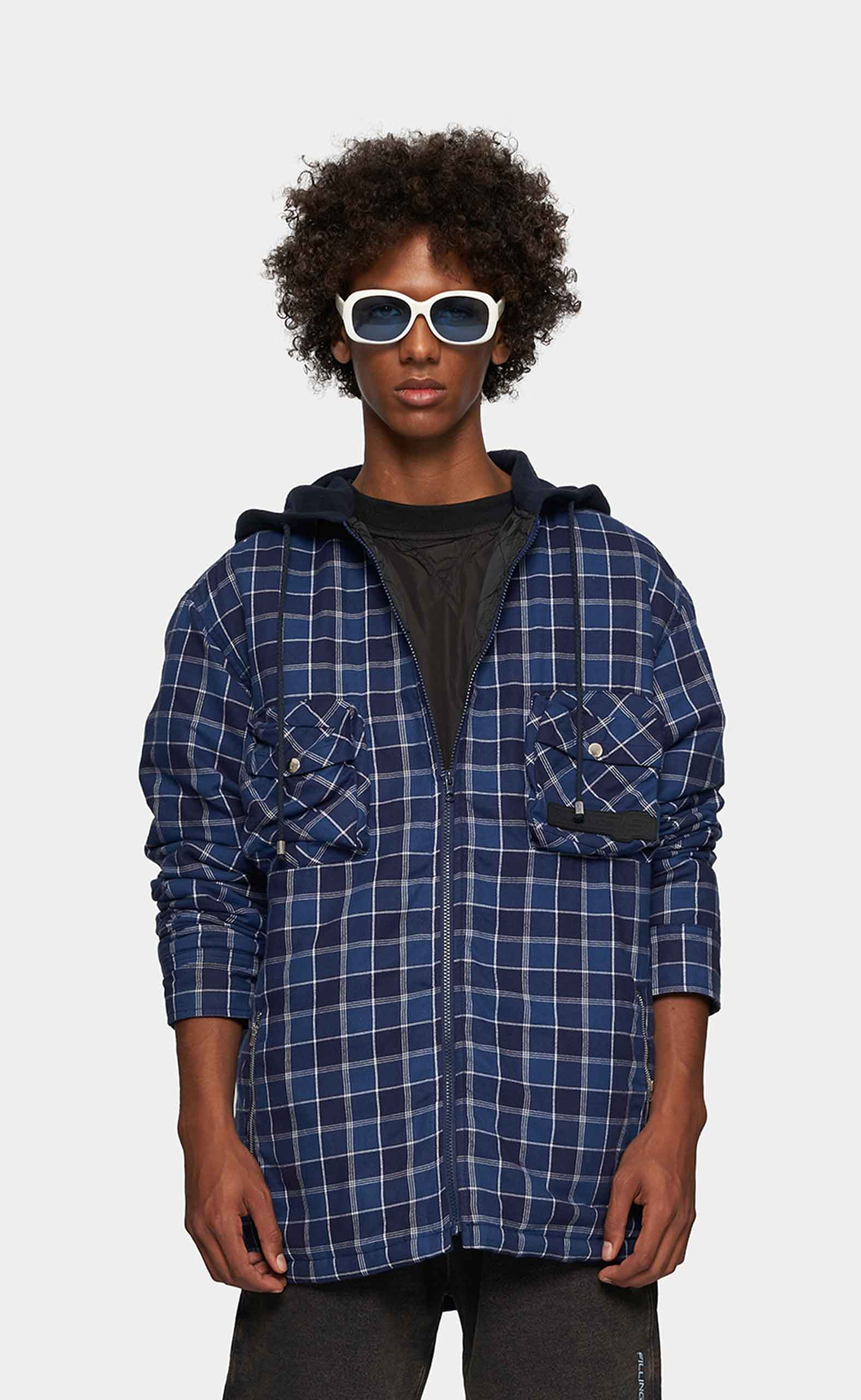 Flannel Shirt Checked pattern - men