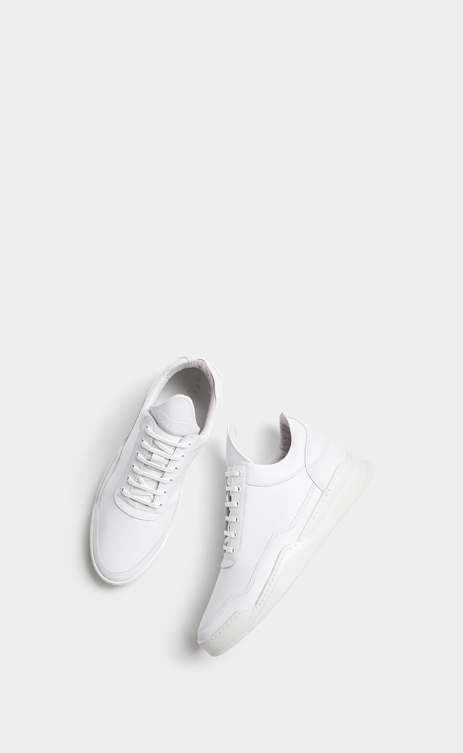 Low Top Ghost All White