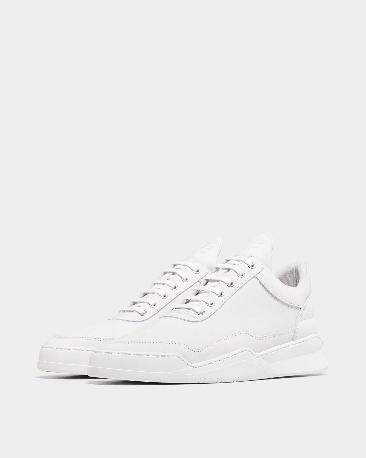 Low Top Ghost Nappa White - Filling Pieces