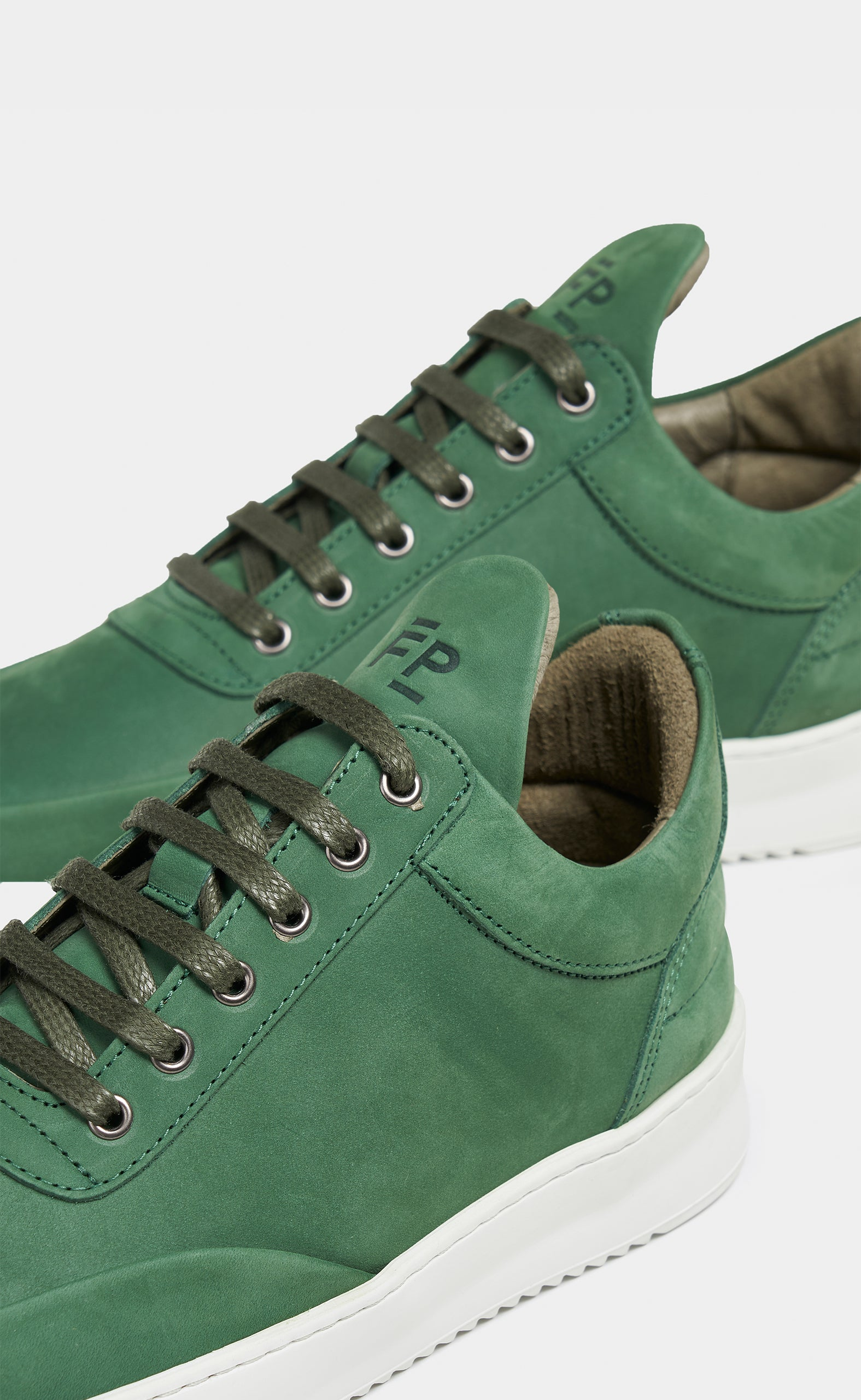 Low Top Ripple Grain Capsule Army Green