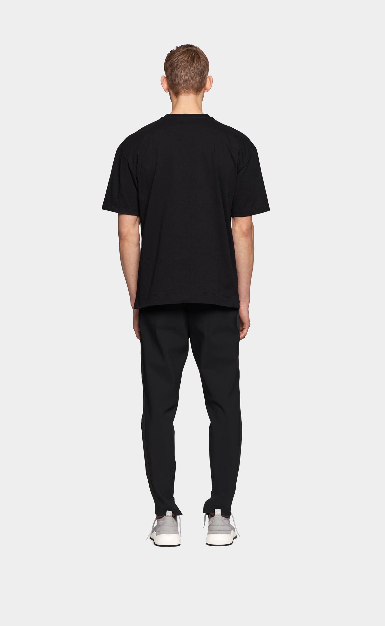 Graphic Tee Wall Street Black