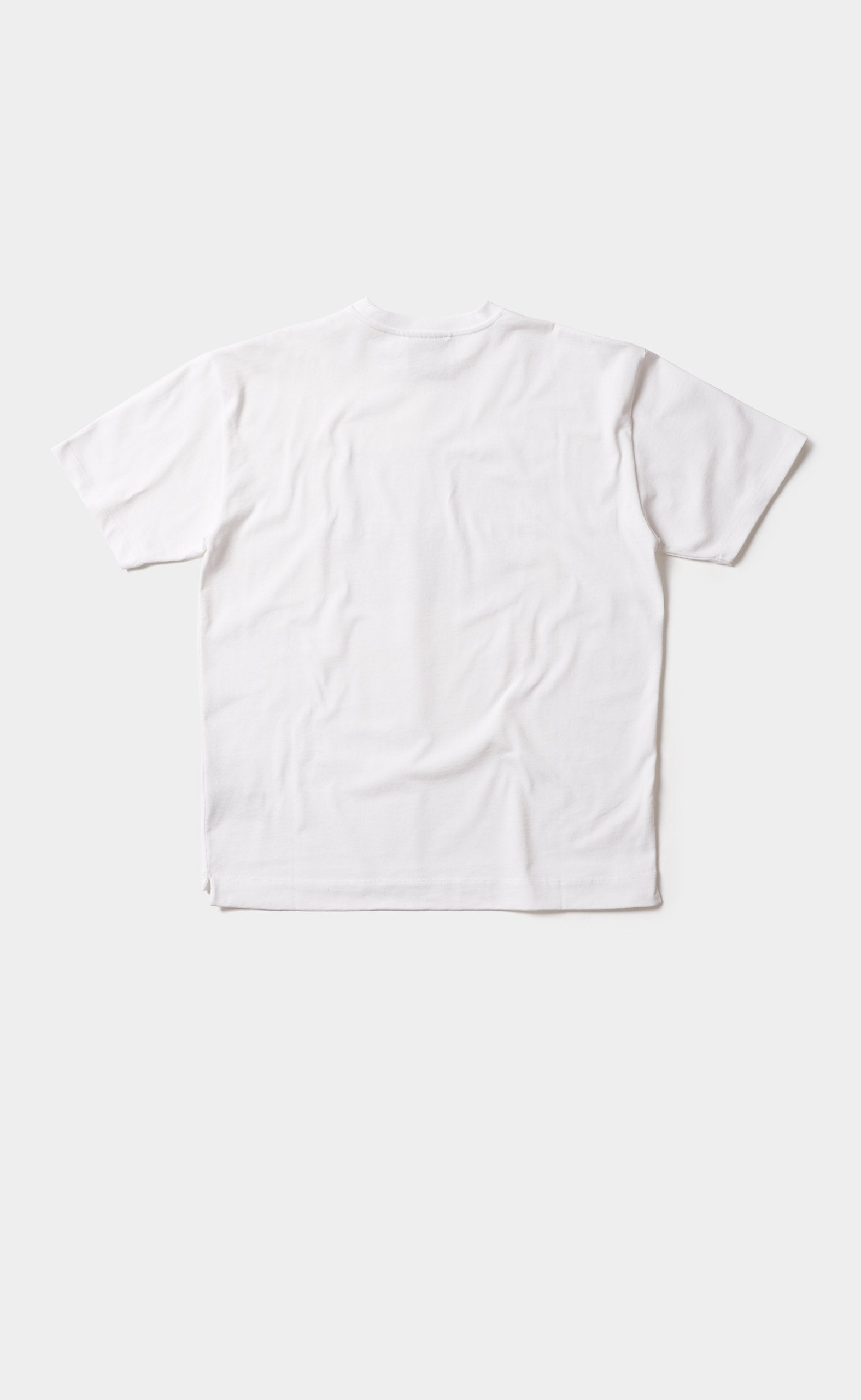 Graphic Tee Wall Street White