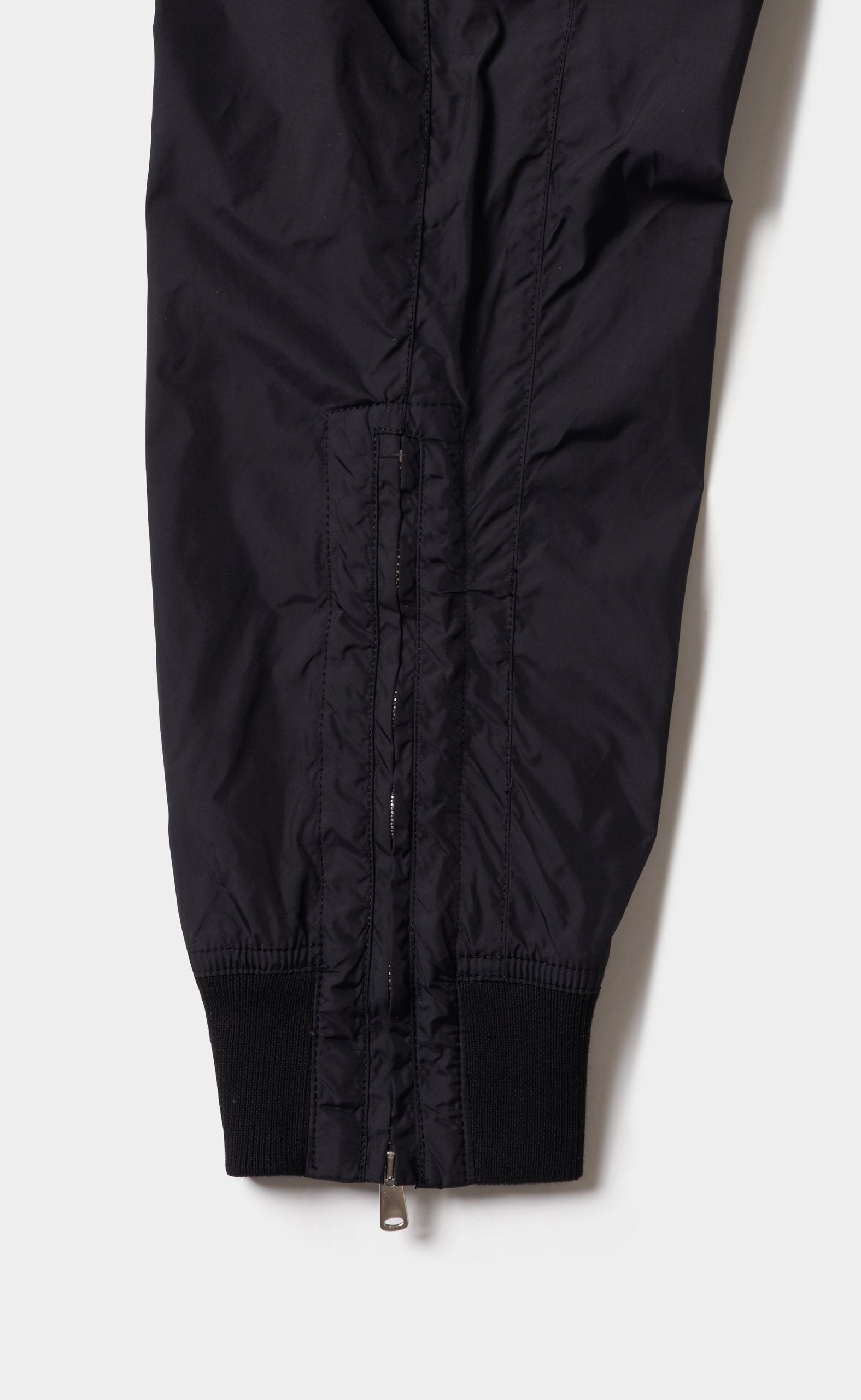 Paneled Pants Black