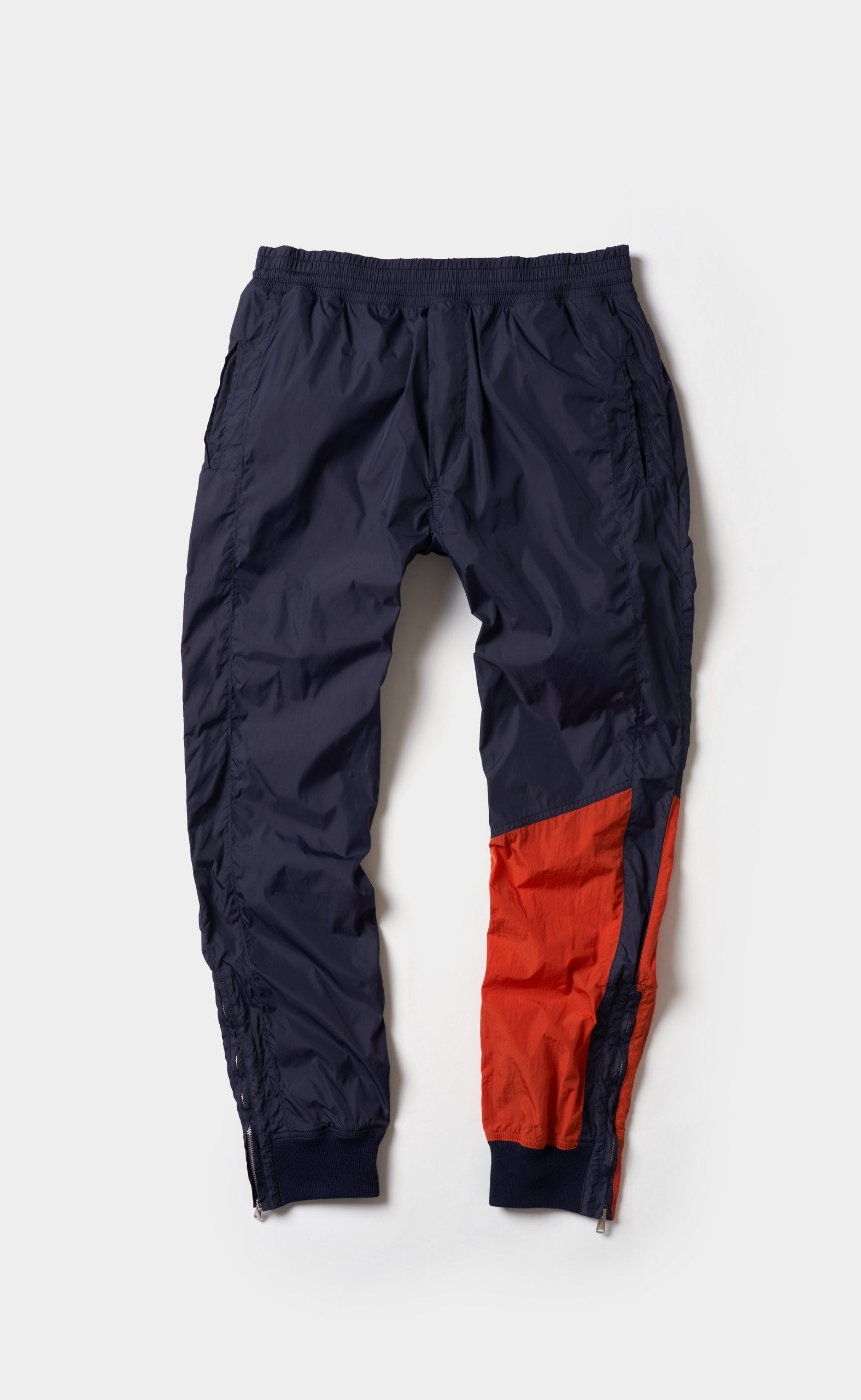 Paneled Pants Blue/Orange