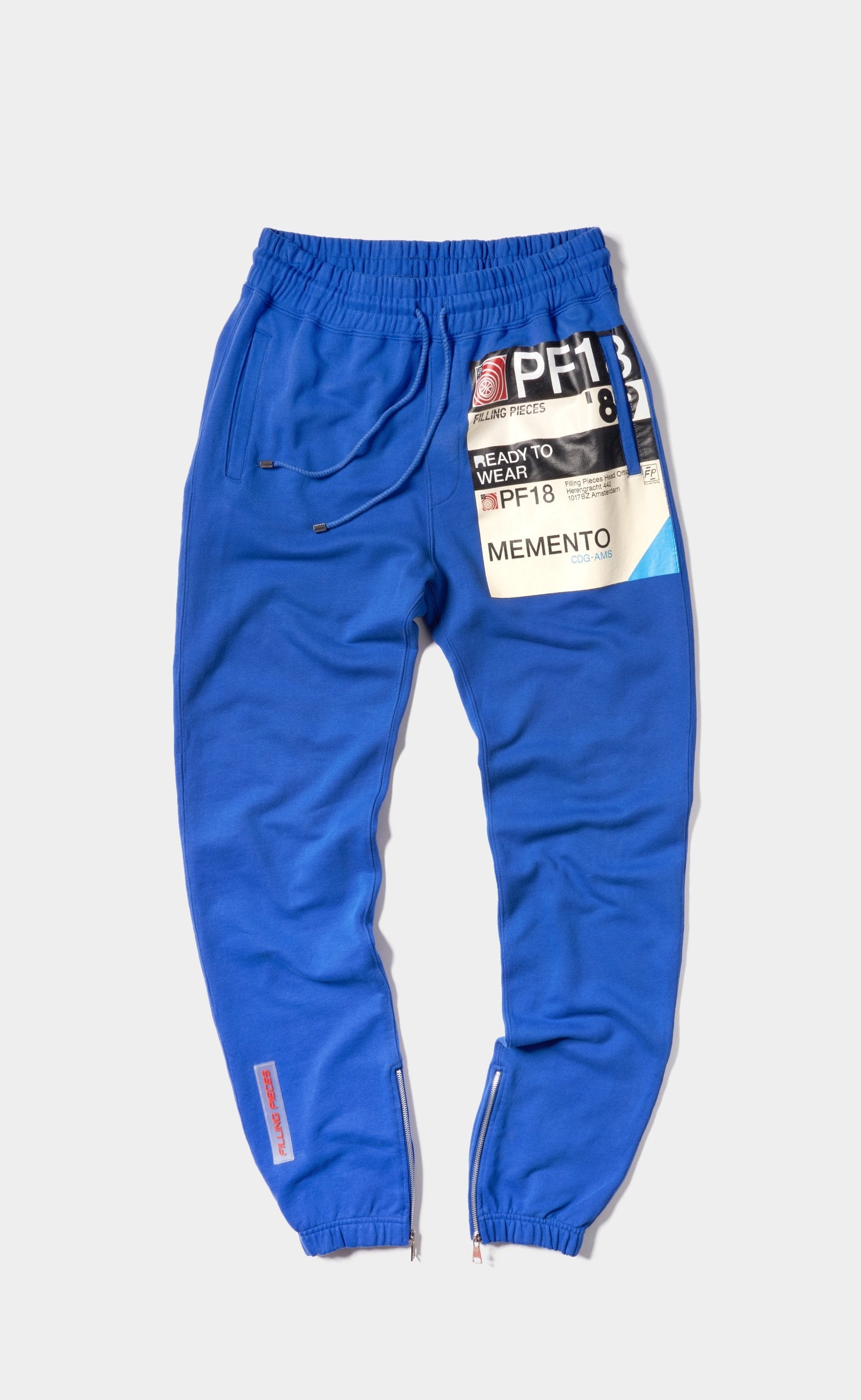 Graphic Sweatpants Royal - 89 Print