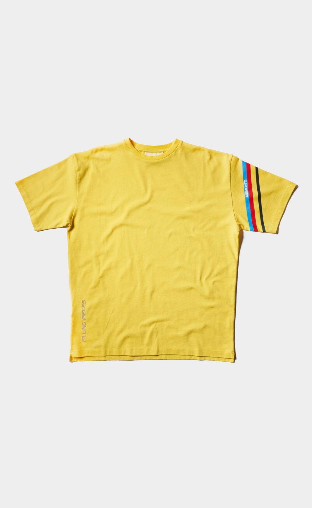 Graphic Tee Yellow - Striped