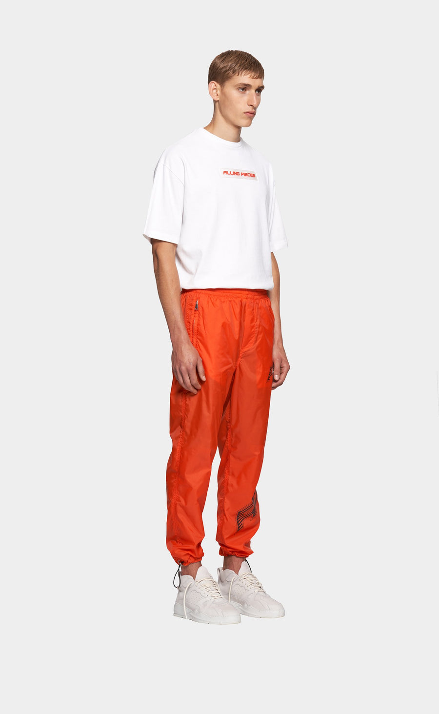 Nylon Cord Pants Orange