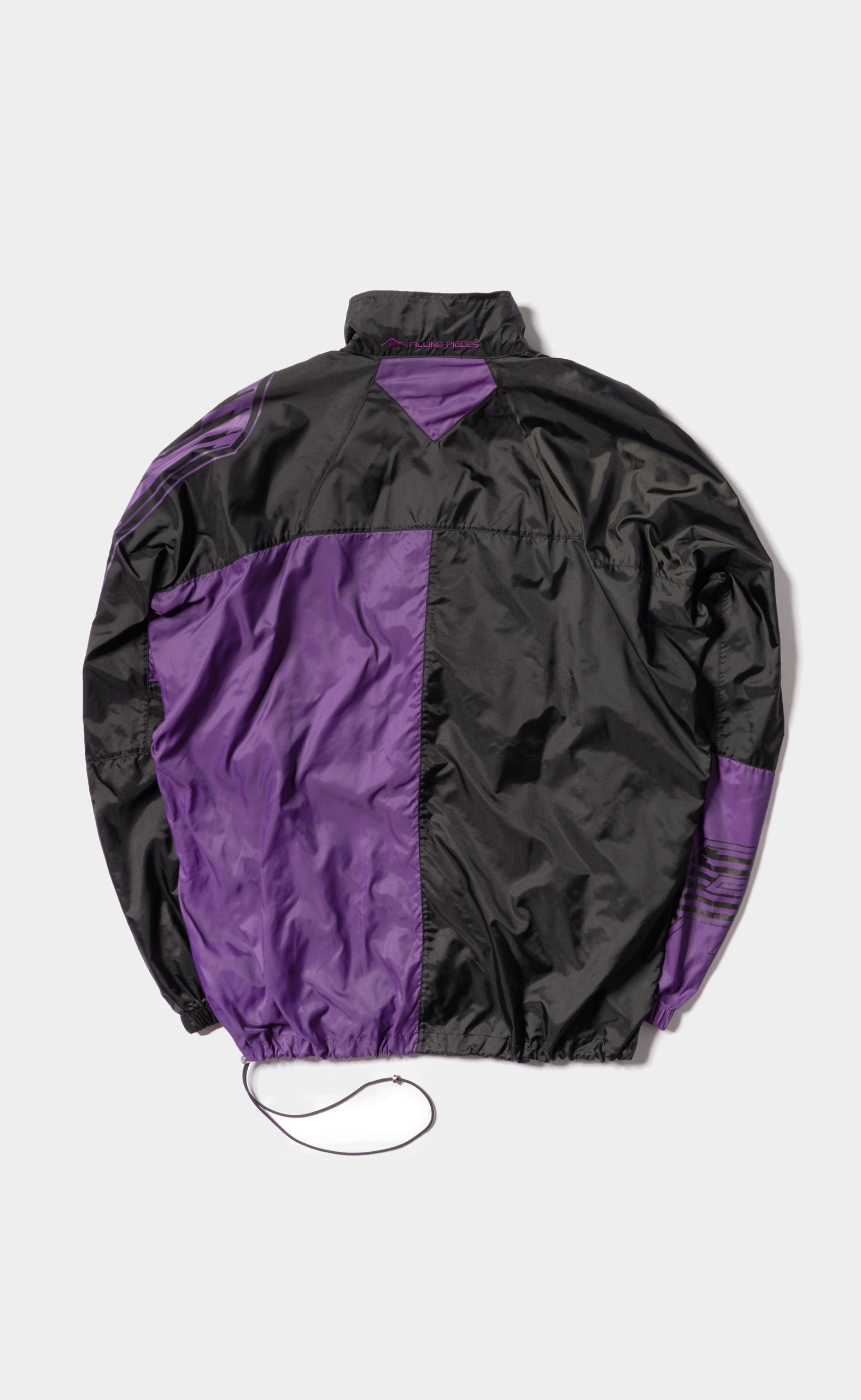 Paneled Jacket Black/Purple