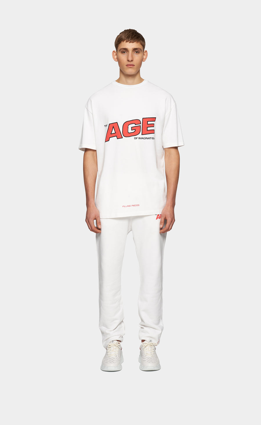 Graphic Tee Age White