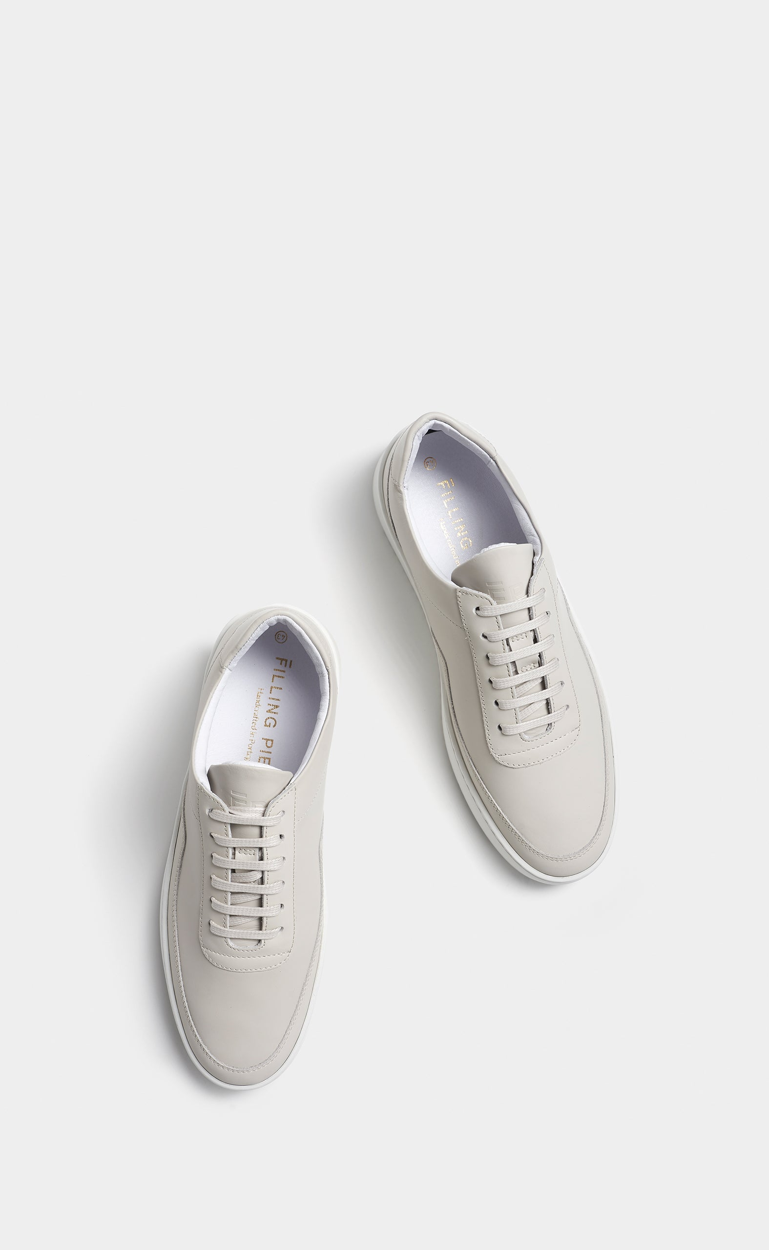Low Mondo Ripple Matt Nappa Off White
