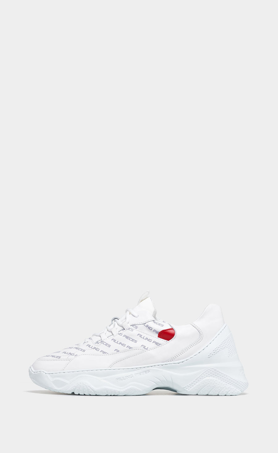 Low Shuttle Orion White/Red