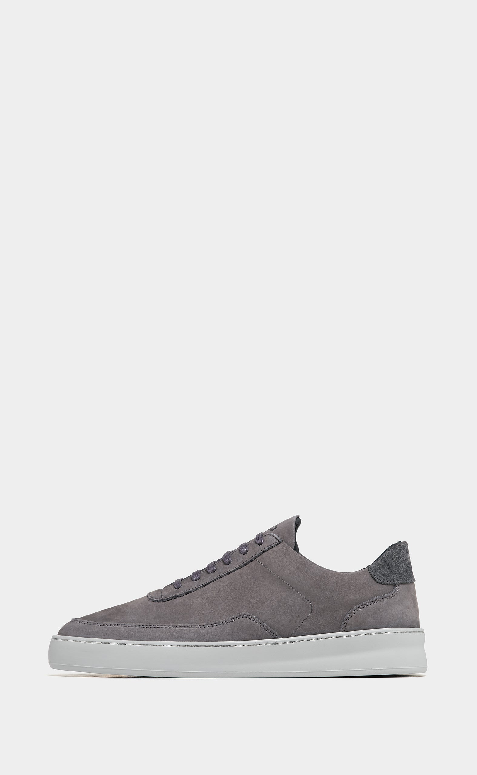 Low Mondo Plain Nardo Dark Grey