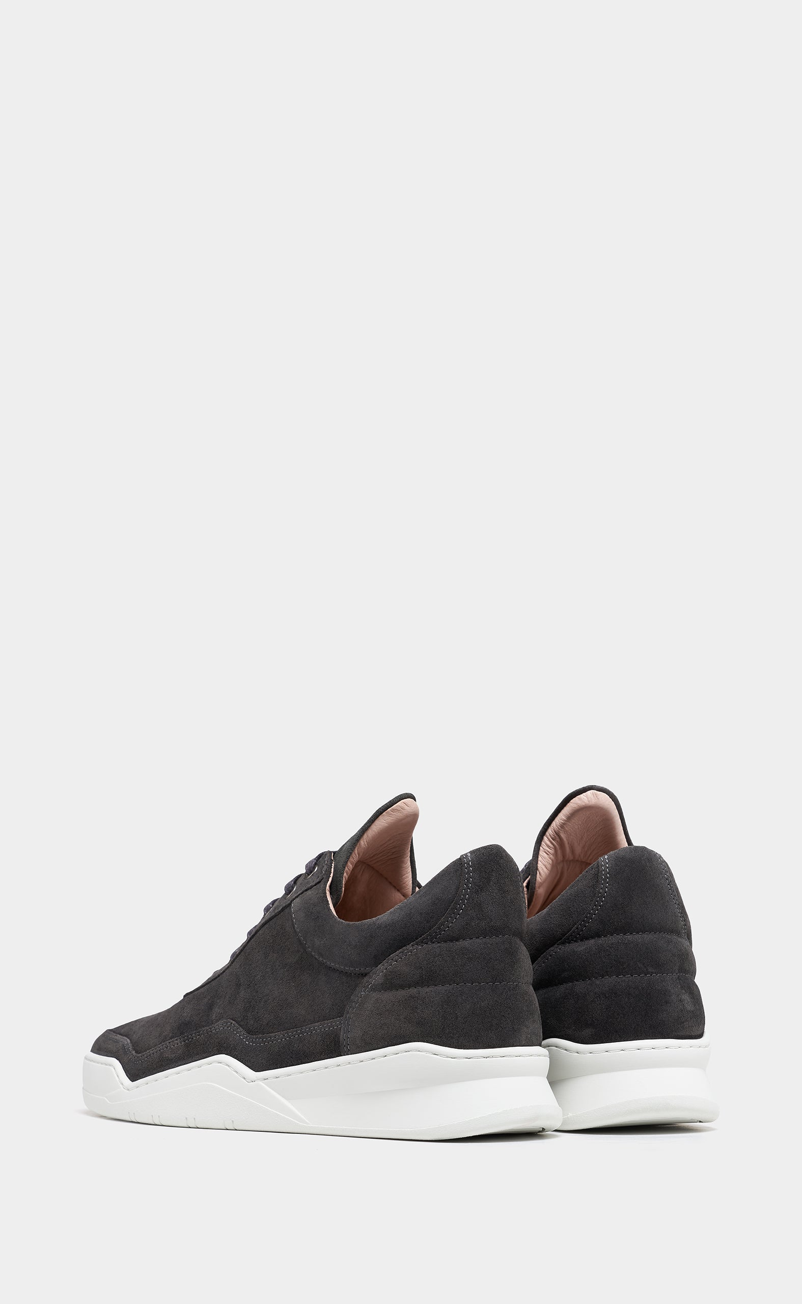 Low Top Ghost Suede Anthracite - men