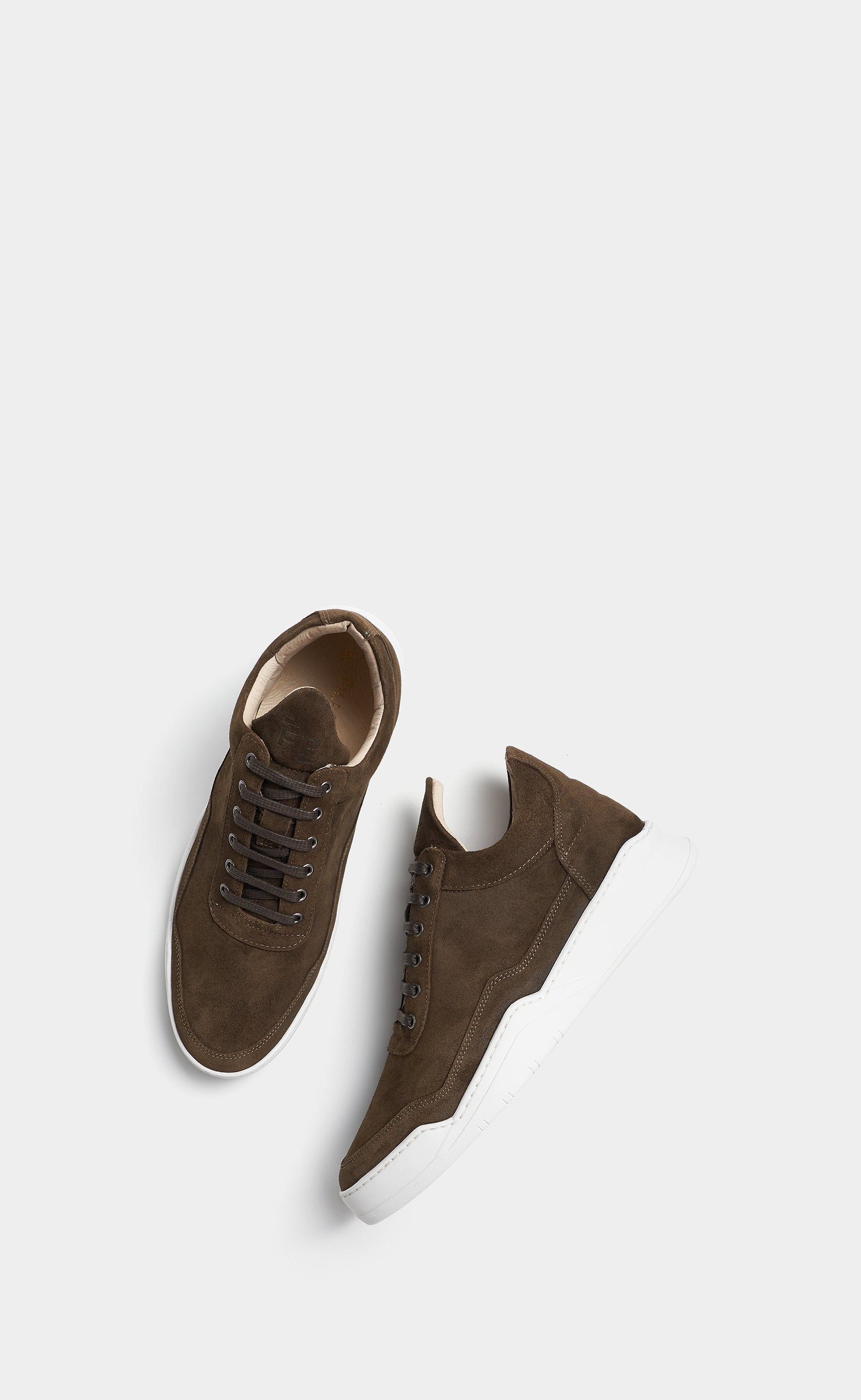 Low Top Ghost Suede Dark Brown