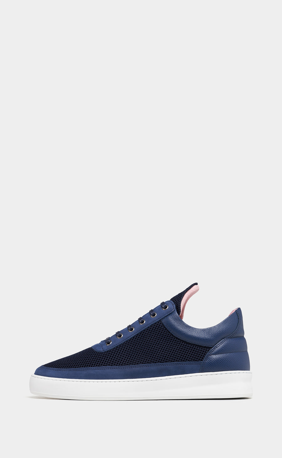 Low Top Plain Infinity Navy Blue