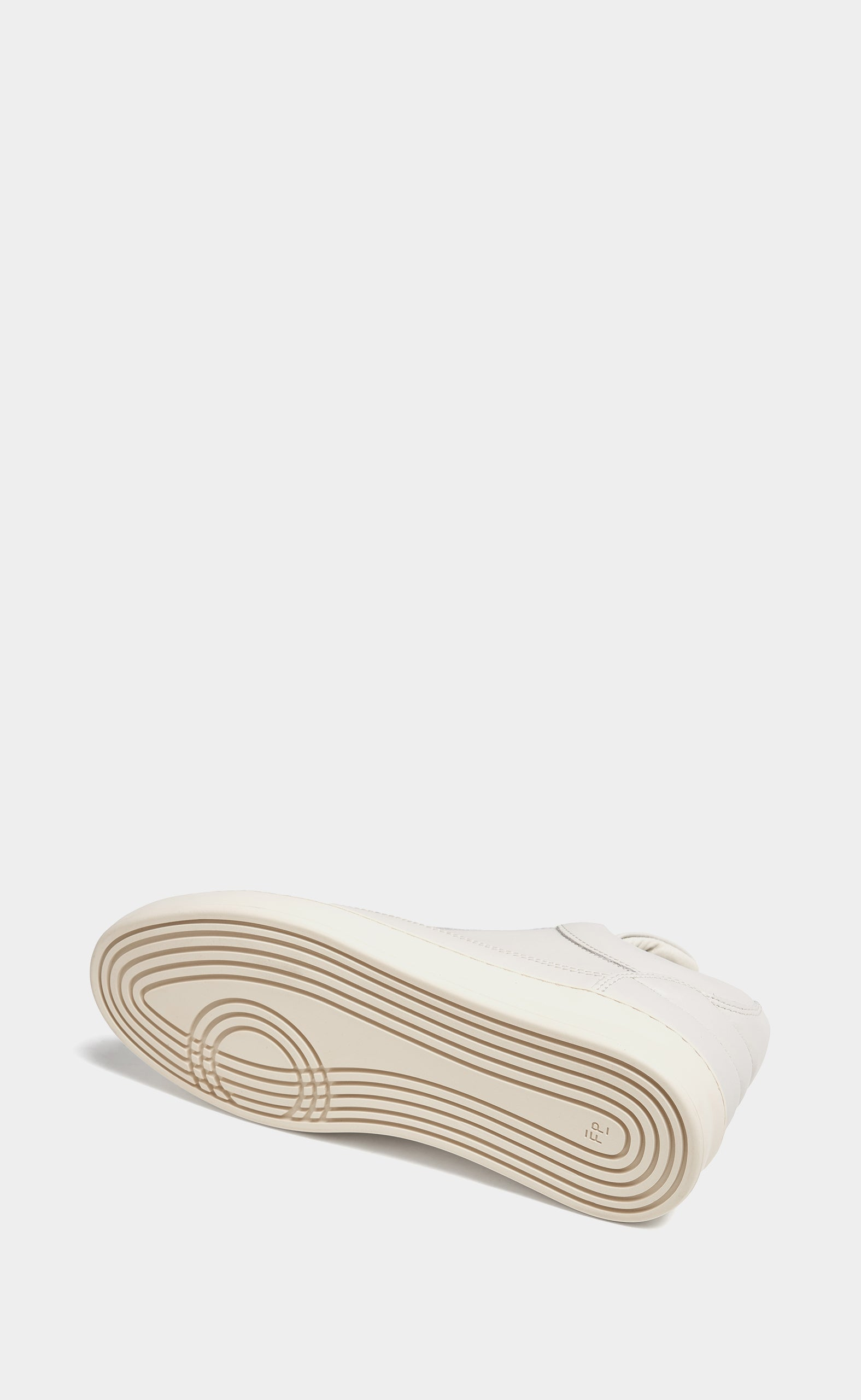 Low Top Plain Matt Nappa Off White