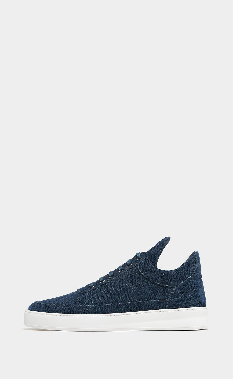 Low Top Plain Vuora Navy Blue