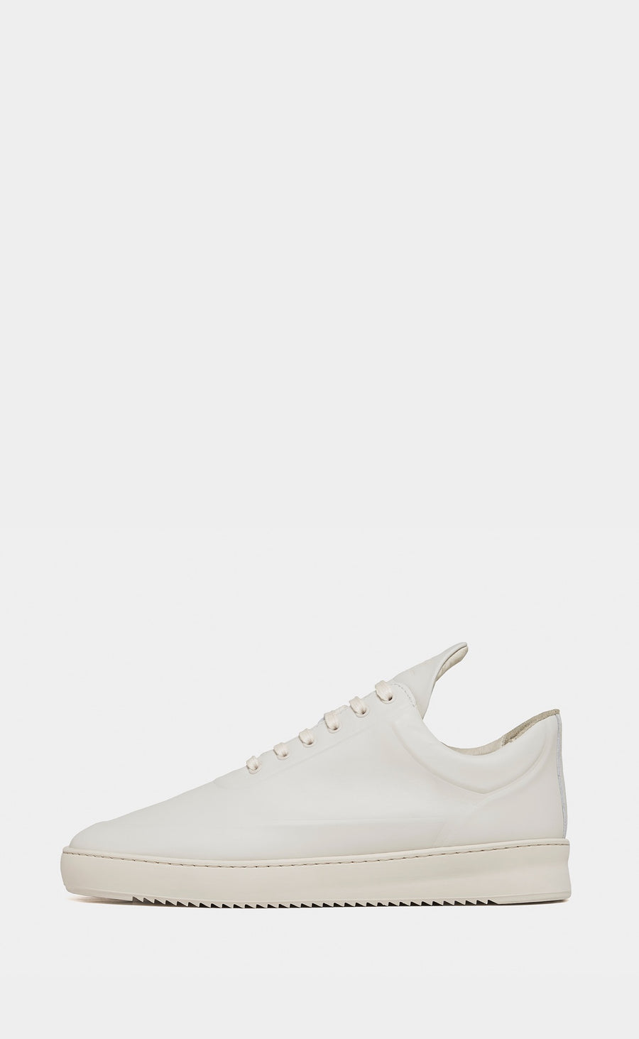 Low Top Ripple Embossed Off White