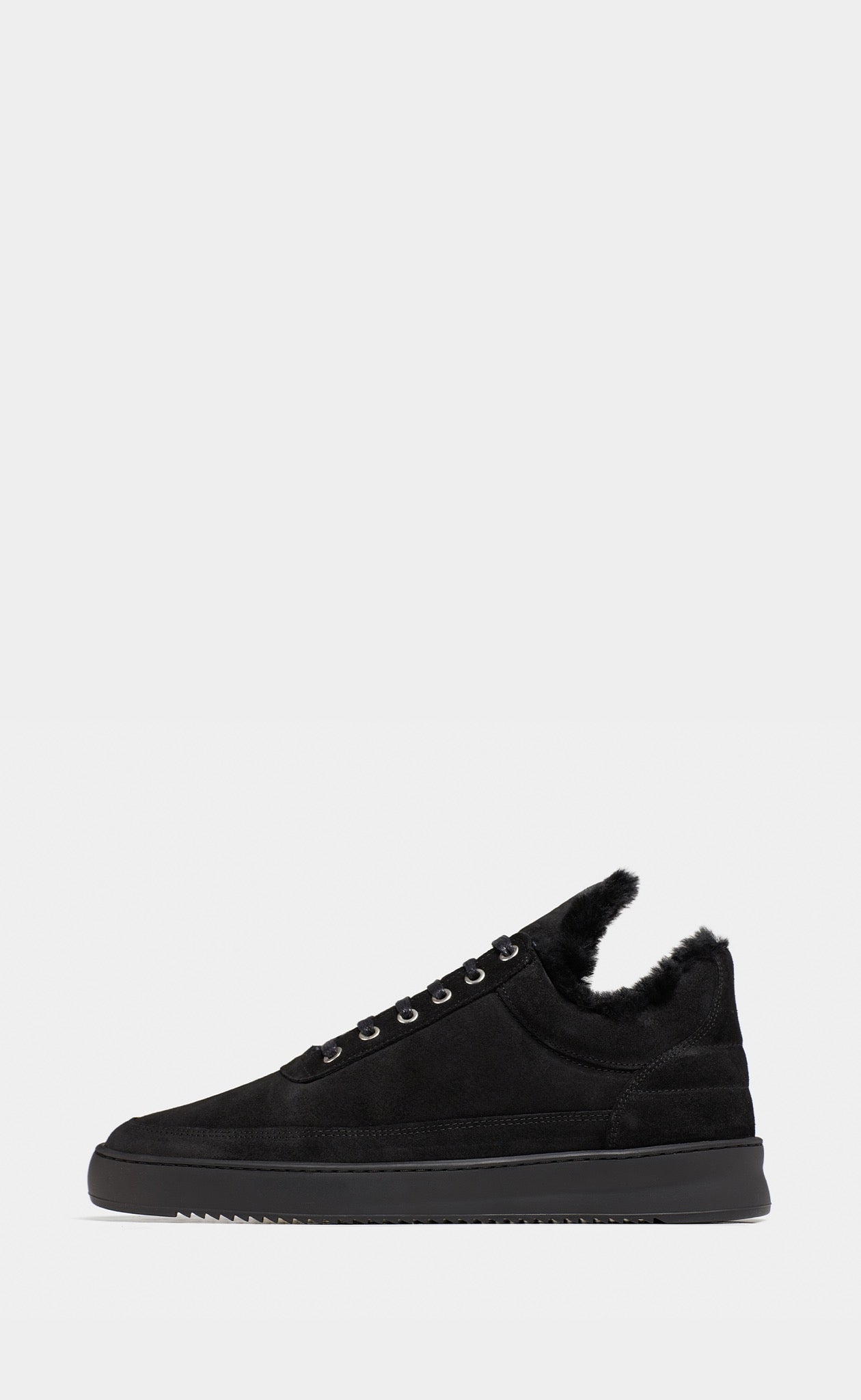 Low Top Ripple Tinza All Black