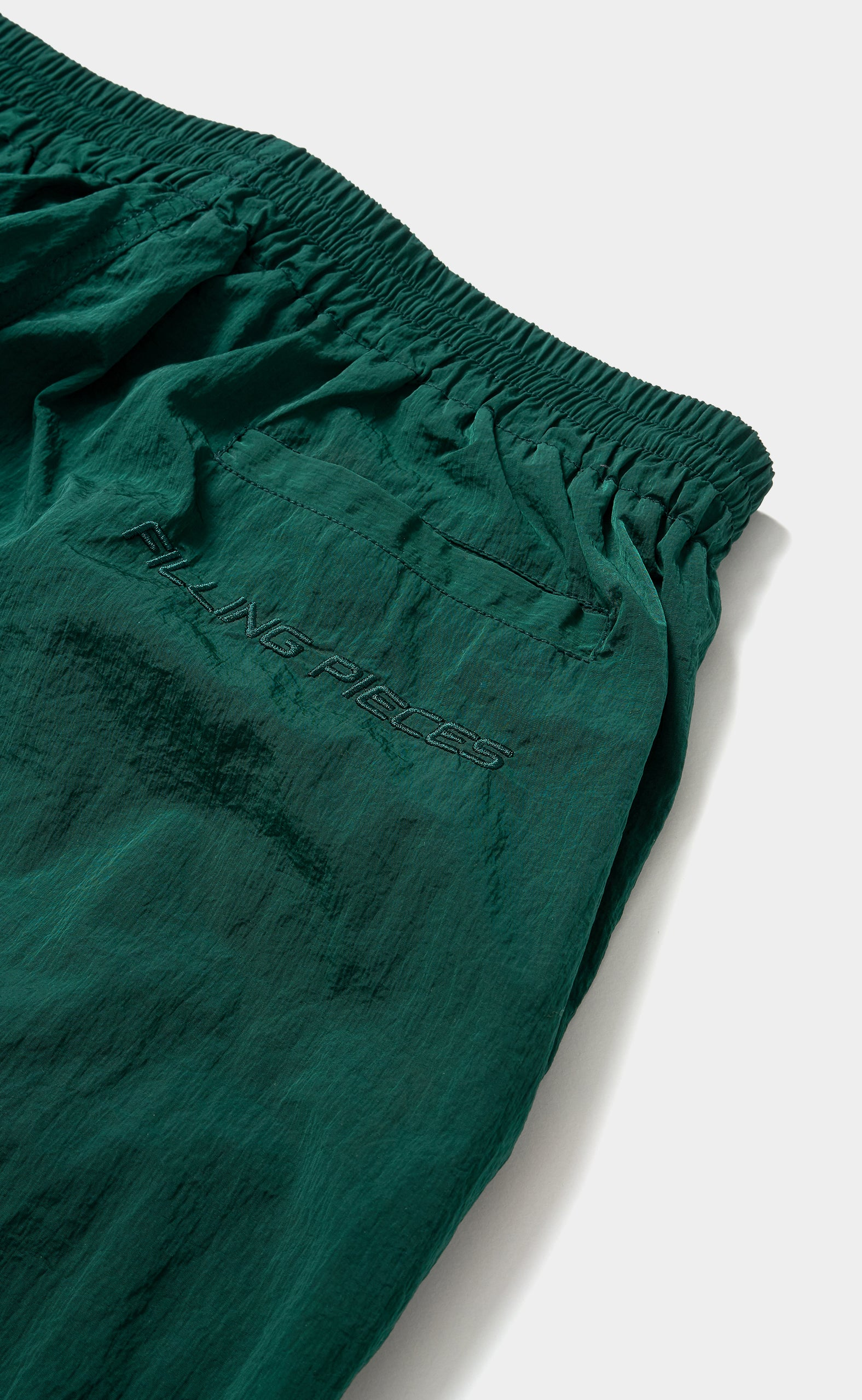 Nylon Cord Pants Sea Moss