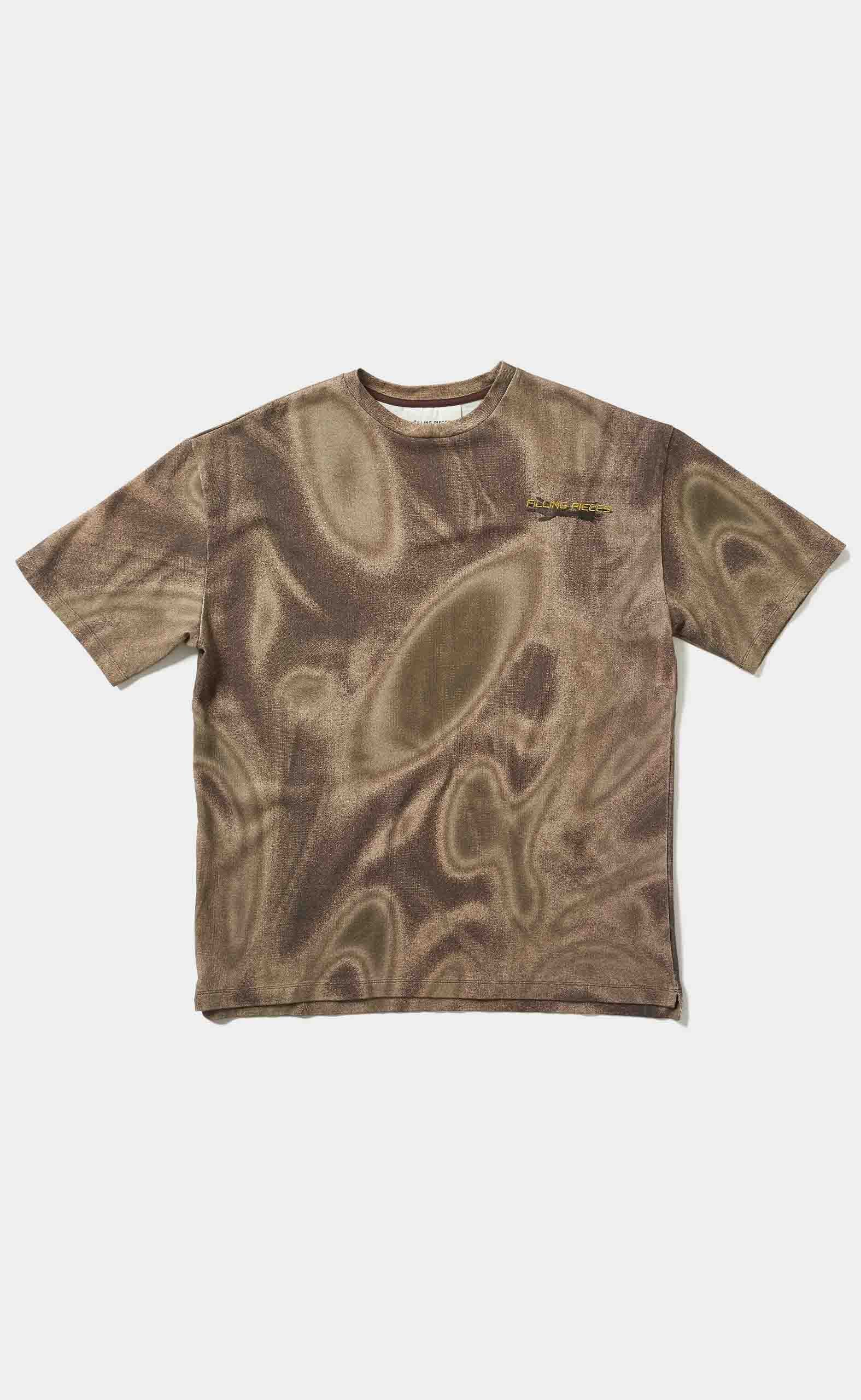 Graphic Tee Respect The Old Camo