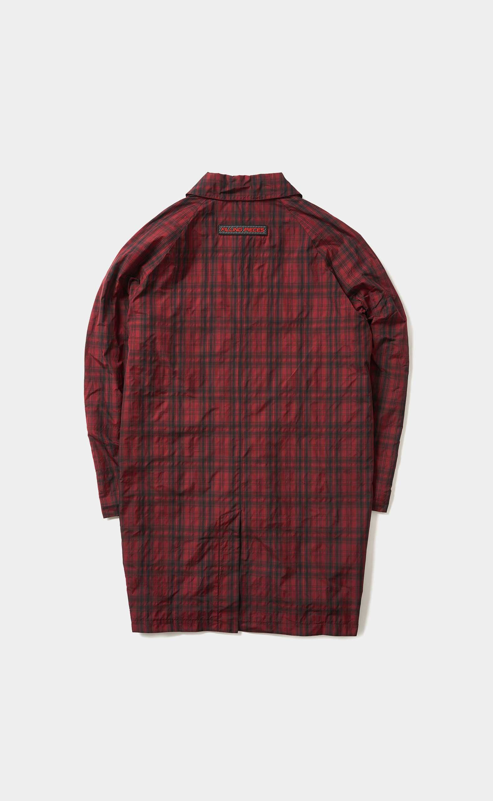 Mac Coat Check Black/Red