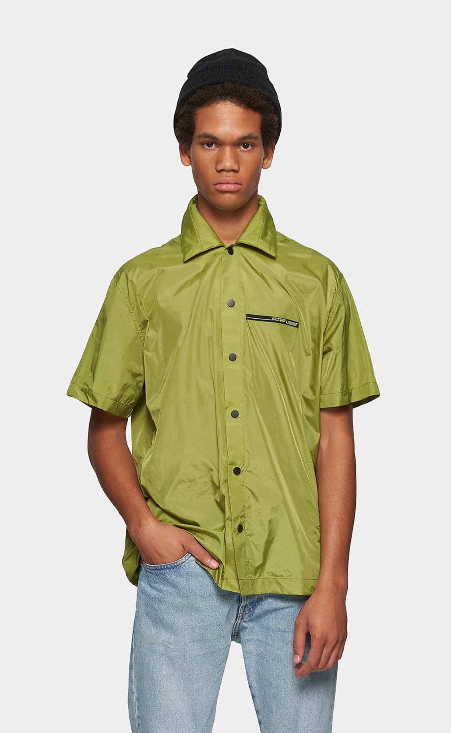 PADDED SHORT SLEEVE GREEN - men