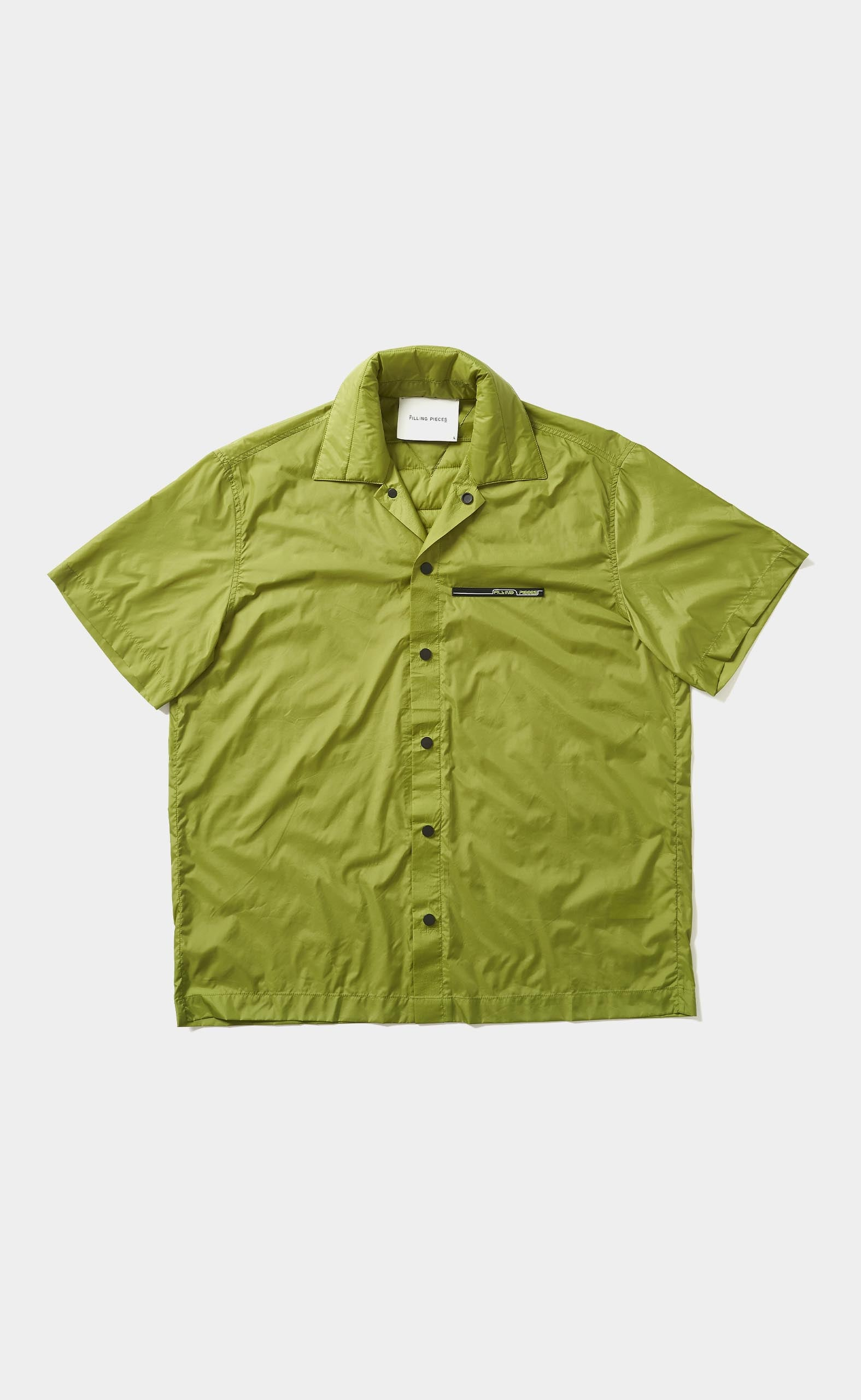 Padded Short Sleeve Green