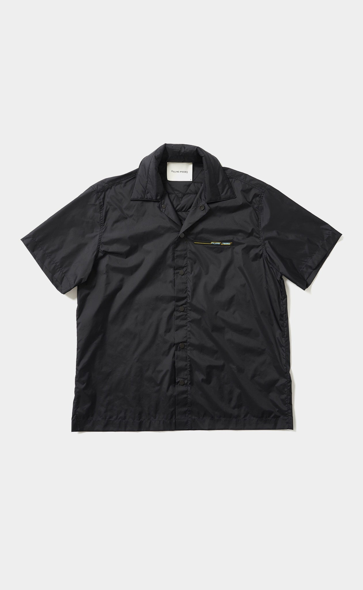 Padded Short Sleeve Black