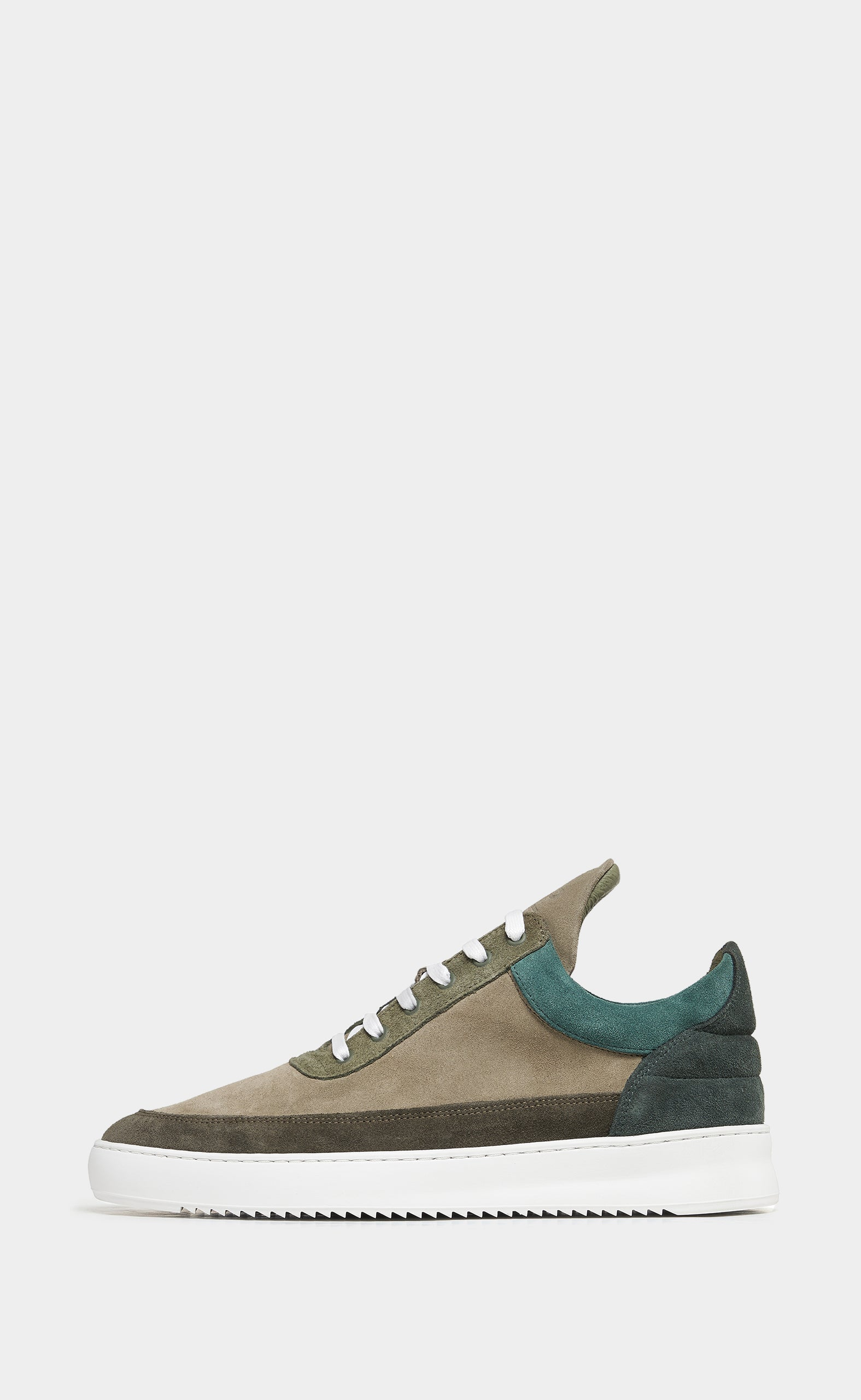 Low Top Ripple Multi Army Green